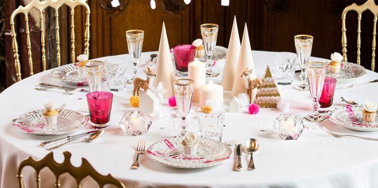 DIY faciles et pas chers : une déco de table de Noël style scandinave