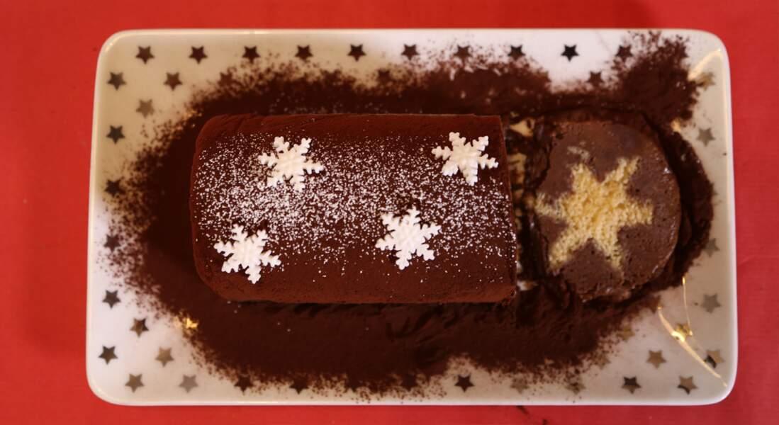 Bûche de Noël au chocolat : la recette en vidéo