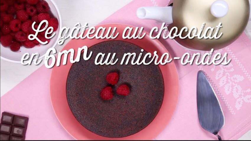 La recette du gâteau au chocolat micro-ondes en 6 minutes
