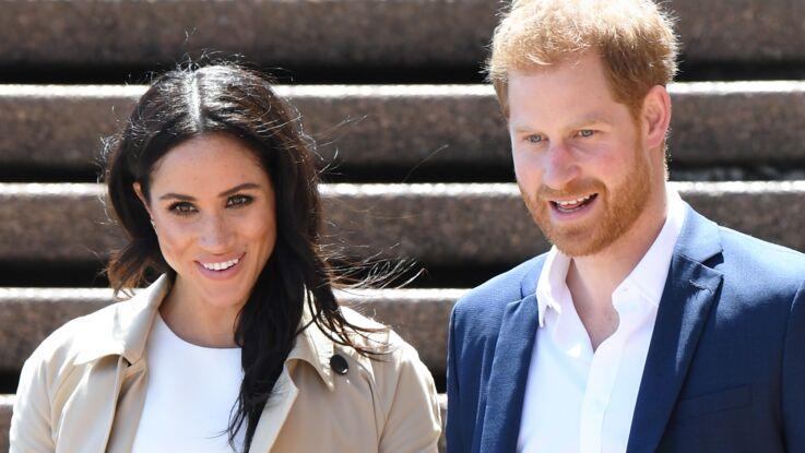 PHOTOS - Meghan Markle porte les boucles d'oreilles papillon de la princesse Diana, au lendemain de l'annonce de sa grossesse
