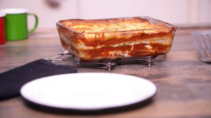 La recette des lasagnes sans gluten avec des galettes de sarrasin