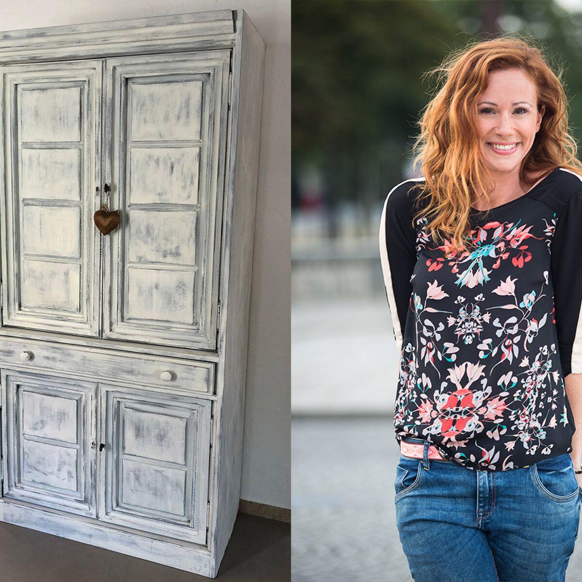 Comment Customiser Une Armoire comment patiner une armoire ? : femme actuelle le mag