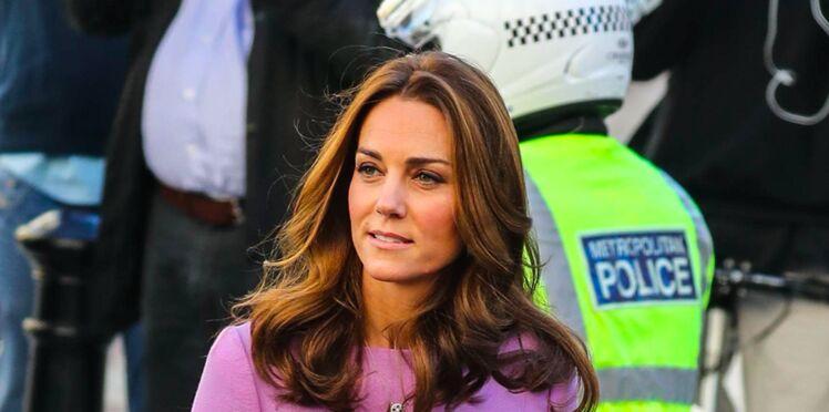 Kate Middleton, très classe et décontractée dans sa robe à pois