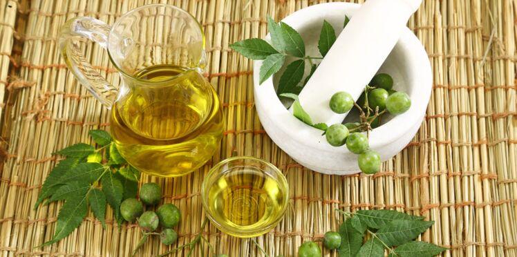 Soins beauté : comment utiliser l'huile de neem