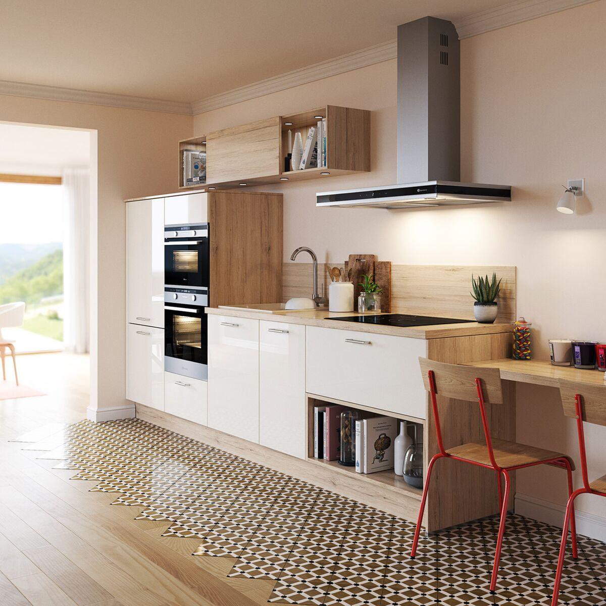 Mettre Un Miroir Dans Une Cuisine agencement de cuisine : 10 conseils pour aménager un espace