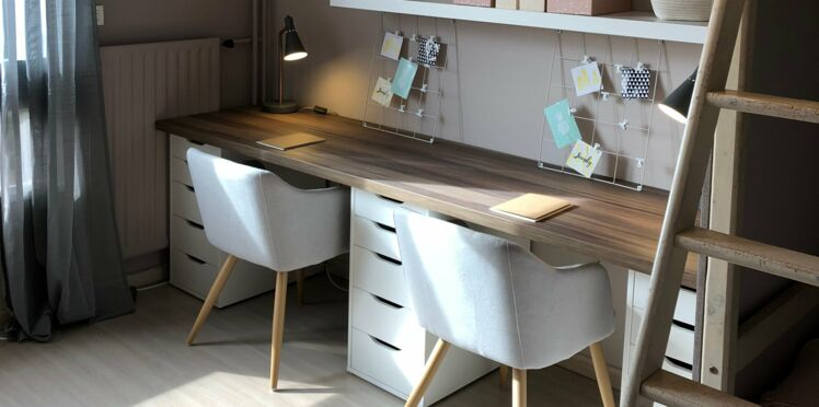 DIY chambre : comment fabriquer un grand bureau