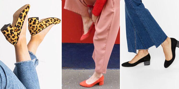 Talon carré, ou la tendance chaussures à adopter cette saison !