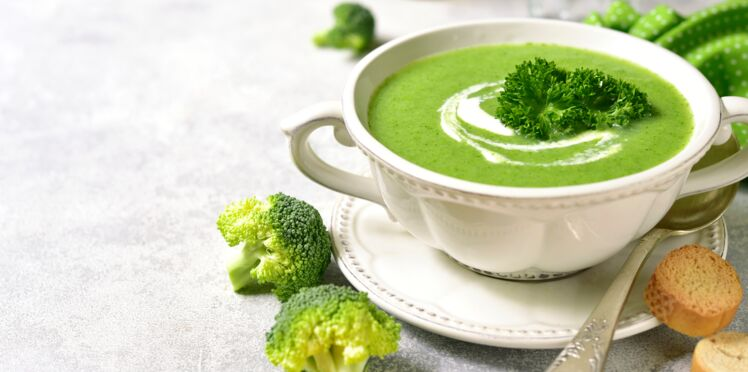 Potage brocoli, mascarpone et gorgonzola au Thermomix ®