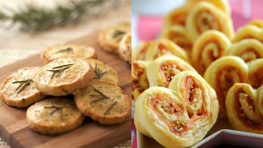Nos recettes de biscuits salés pour l'apéritif