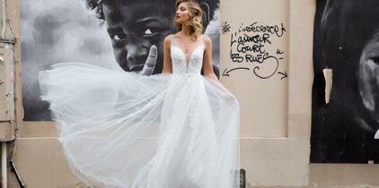 afeabd97be1 PHOTOS - J ai une silhouette en A   20 robes de mariée faites pour ...