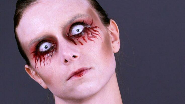 Tuto vidéo : réalisez ce maquillage facile et ultra flippant pour Halloween