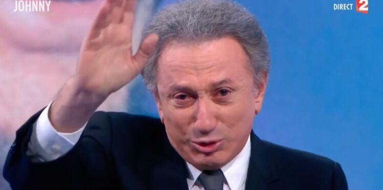 Mort de Johnny Hallyday : Michel Drucker révèle ce qu'il aurait dû dire à la fin de son hommage au Taulier