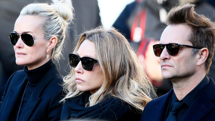 Laeticia Hallyday : elle remet en cause le comportement de David et Laura face aux journalistes