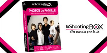 Votre coffret LaShootingBOX  PHOTOS de FAMILLE  à gagner