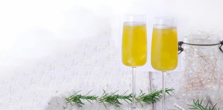 Cocktail fresh honey mood au jus de planteur sans alcool