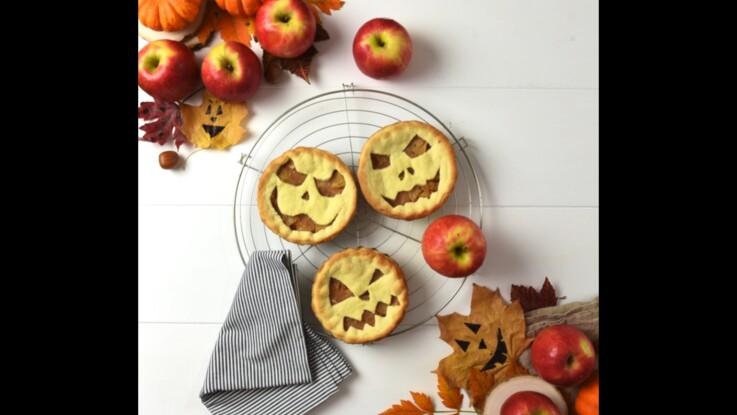 Des tartelettes aux pommes pour Halloween avec Pink Lady