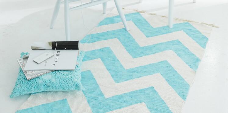DIY chambre d'enfant : customisez un tapis
