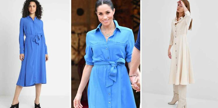 Vite, une robe chemise comme Meghan Markle !