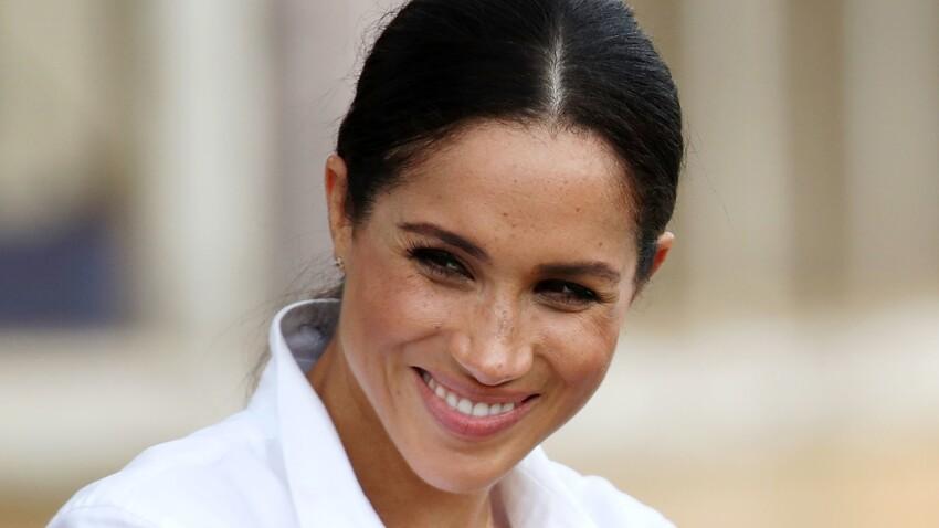 PHOTOS - Meghan Markle : son collier porte-bonheur qu'elle ne quitte plus est signé d'une marque française !