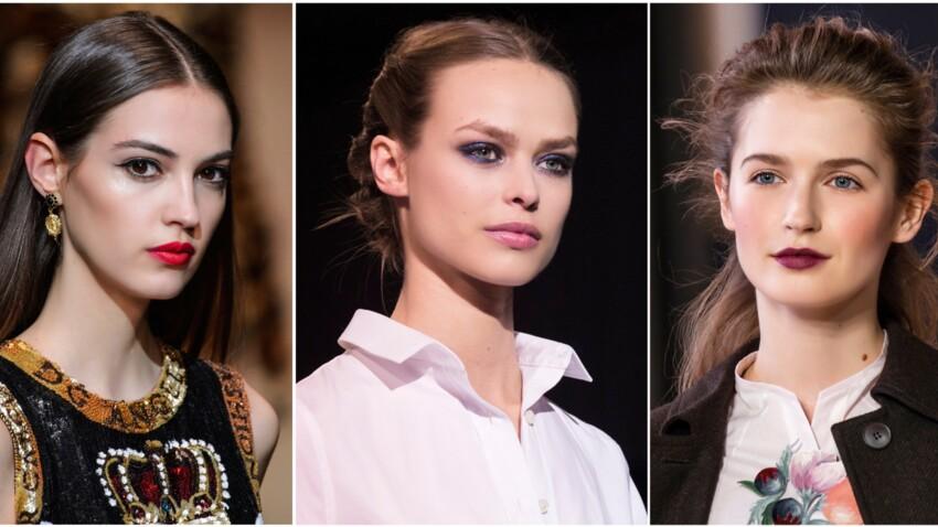 5 make-up incontournables pour l'automne-hiver