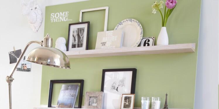 Décorer sans percer : fabriquez un panneau décoratif pour le salon
