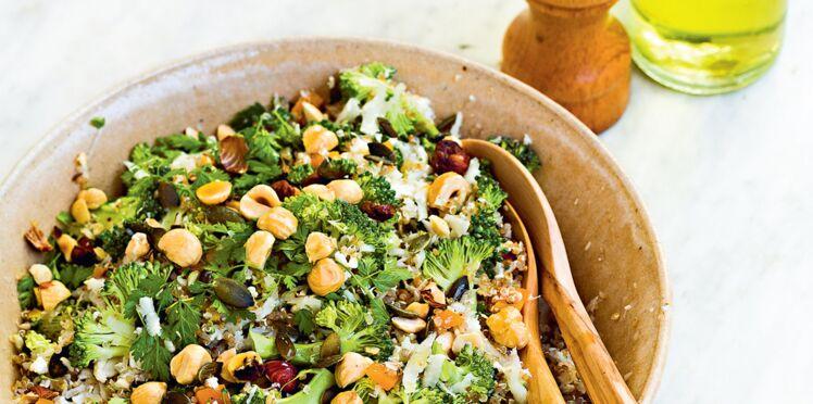 Taboulé chou-fleur & quinoa pour le printemps