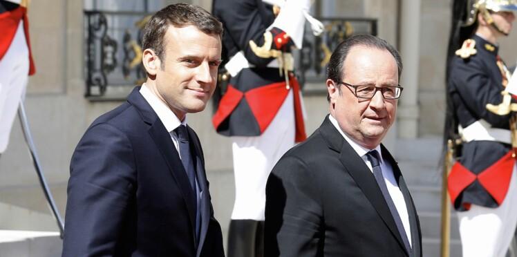 Le jour où Emmanuel Macron s'est moqué de François Hollande et Julie Gayet