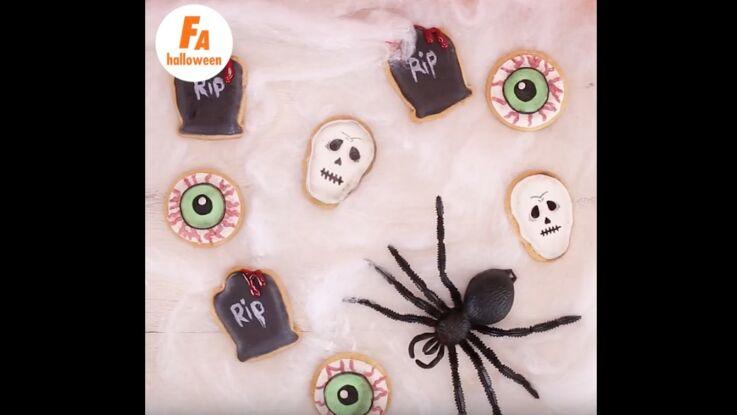 Tuto vidéo : des sablés d'Halloween par Monsukré