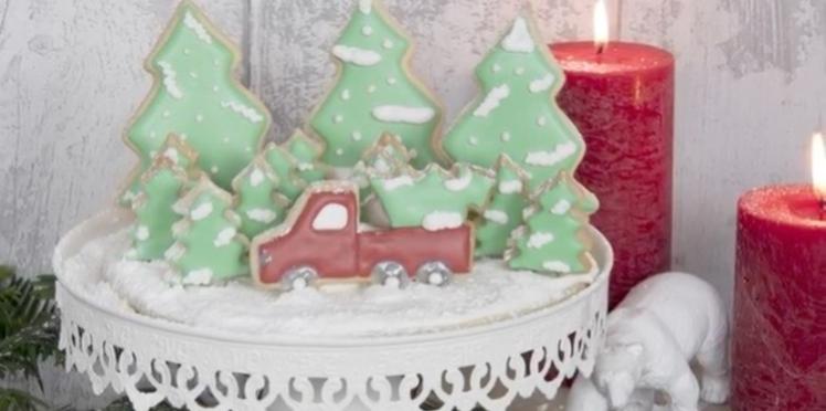 Gâteau de Noël : la recette de la forêt gourmande