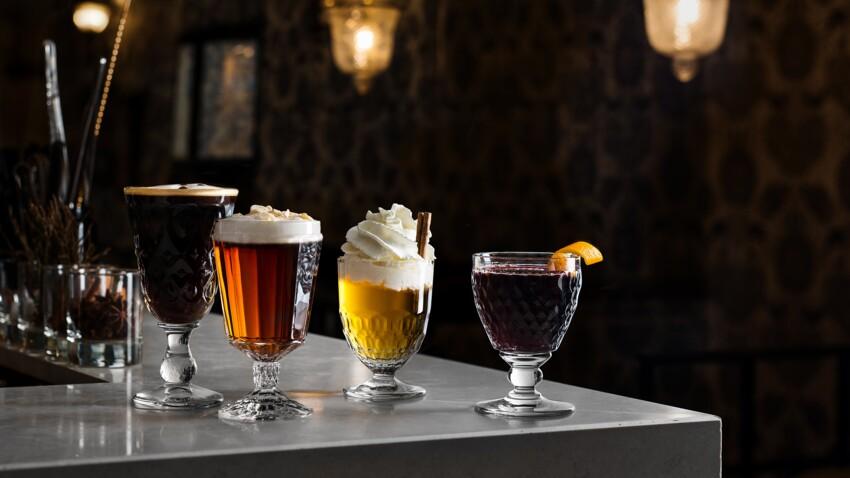 Cocktails chauds pour lutter contre le froid