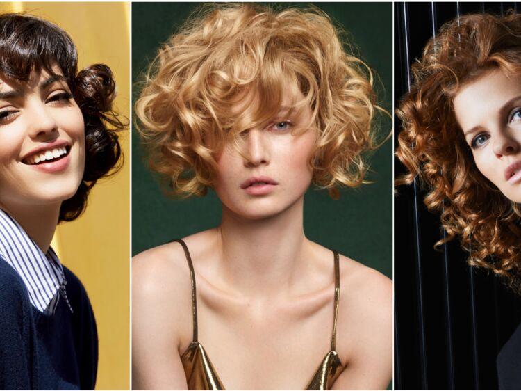 6 coupes pour cheveux bouclés qui rajeunissent : Femme Actuelle Le MAG