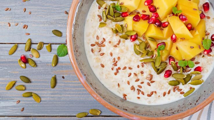 plan de repas de régime de fruit en bonne santé