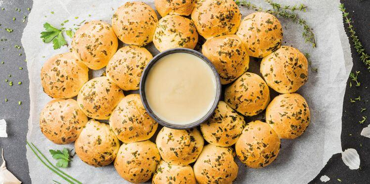 Fondue savoyarde RichesMonts aux petits pains à l'ail
