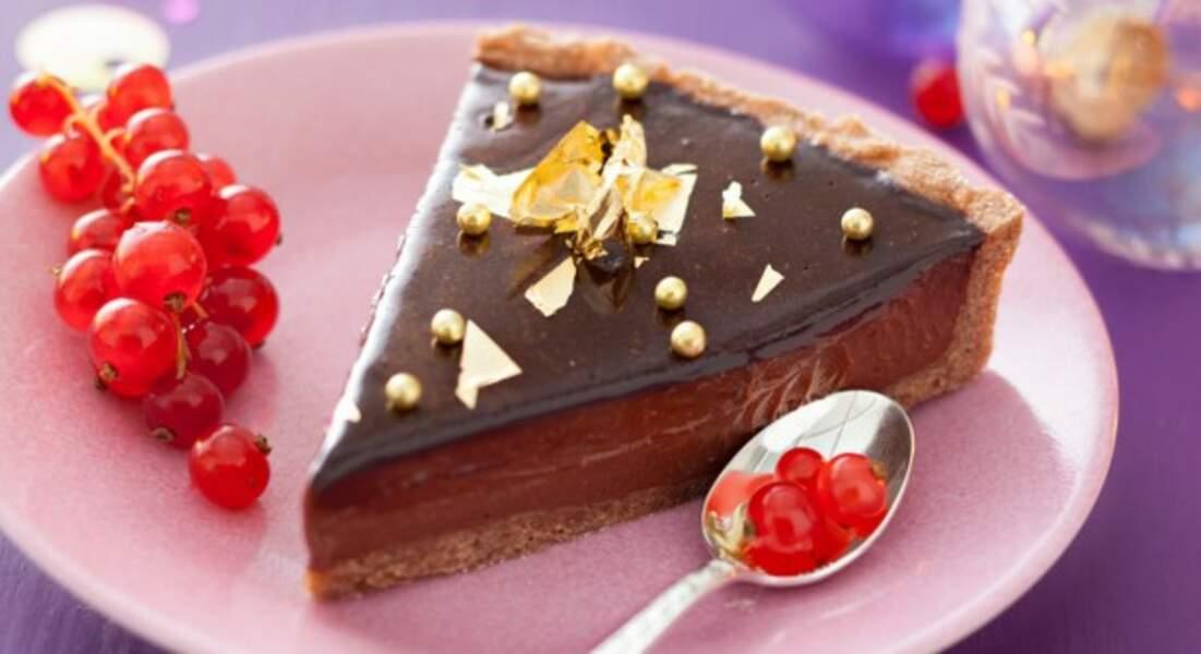 Recette de Noël : tarte au chocolat par Christian Constant