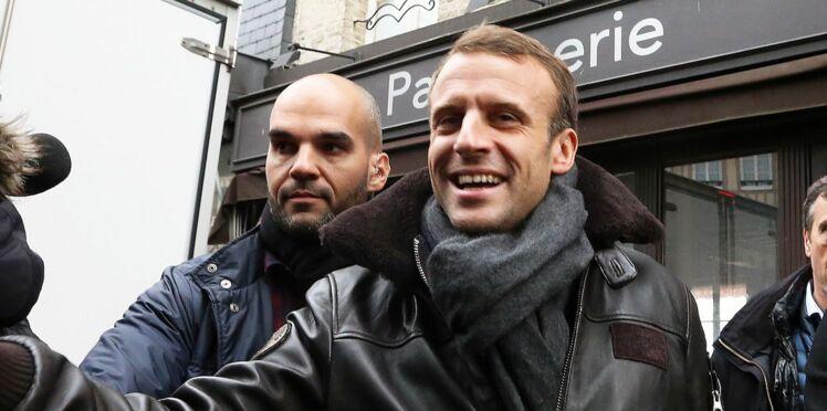 Découvrez d'où vient le blouson en cuir porté par Emmanuel Macron à Honfleur