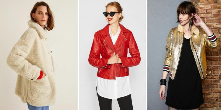 Blousons et petits manteaux : top des nouveautés pour un hiver stylé et douillet