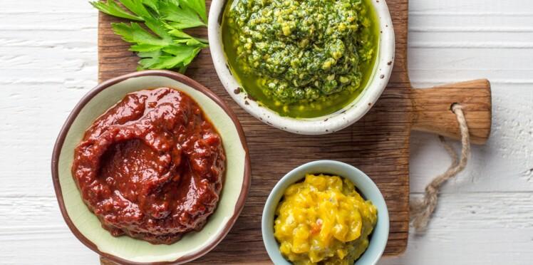 Les 10 sauces les moins caloriques (à moins de 100 kcal)