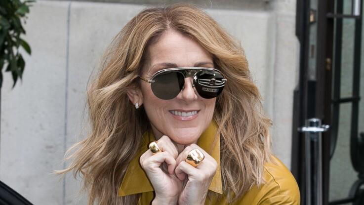Céline Dion, la Queen du style rock s'affiche dans un pantalon vinyle