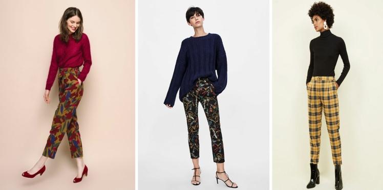 Pantalons imprimés : les plus beaux modèles à motifs pour un hiver tendance