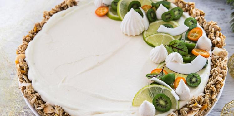 Tarte muesli coco