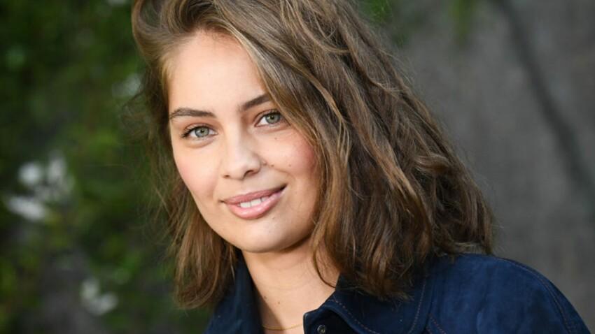 Marie-Ange Casta encore plus sexy que sa sœur Laetitia dans une robe bustier en cuir ultra moulante d'H&M !