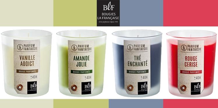 Bougies La Française : 20 lots de 4 bougies parfumées à gagner