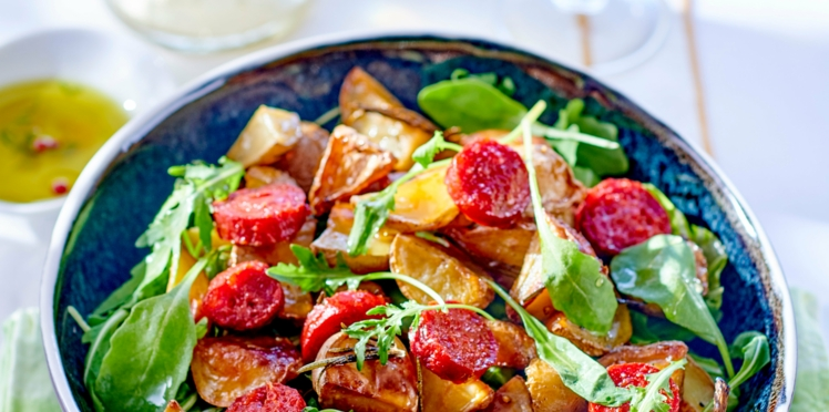 Salade de pommes de terre au chorizo