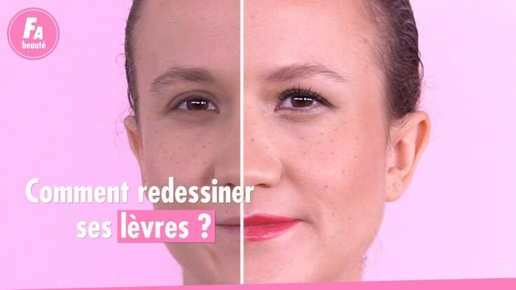 VIDÉO - Lèvres fines : comment les maquiller pour leur donner du volume ?