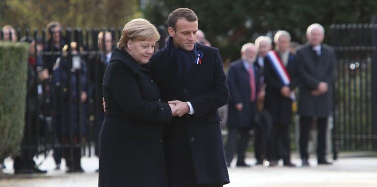 Angela Merkel confondue avec Brigitte Macron lors des commémorations du 11-Novembre
