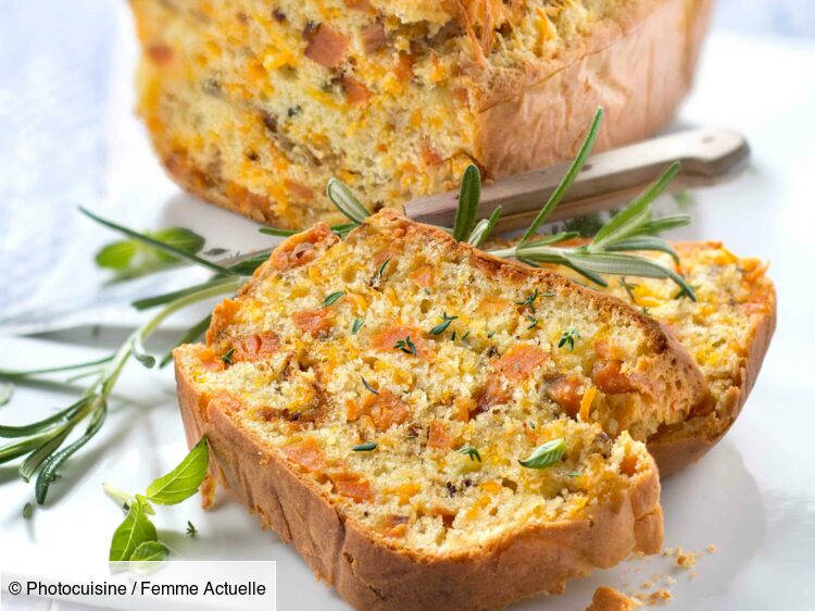 Cake de patate douce et mimolette : découvrez les recettes de cuisine de Femme Actuelle Le MAG