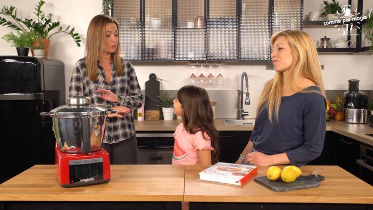 Un duo mère-fille accepte le défi culinaire de Sandrine Quétier !