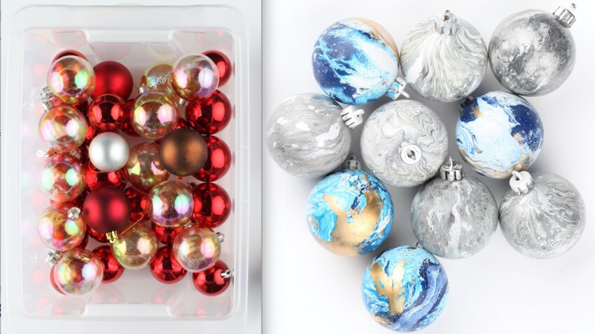 Déco de Noël maison, comment repeindre ses boules