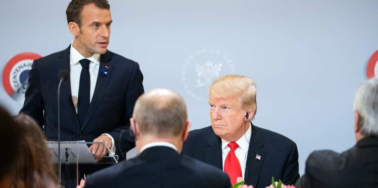 """Donald Trump poste des twitt rageurs contre """"Emmanuel"""" et la France"""