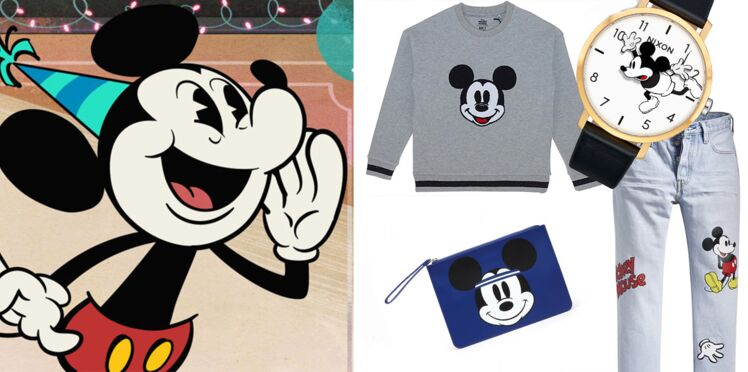 Mickey fête ses 90 ans : les plus belles pièces mode à l'effigie de la souris iconique Disney (on adore !)